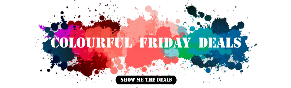 Colourful Friday Deals