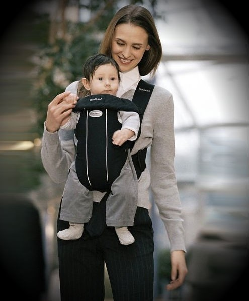 3e254240563 Toddlers  N  Babies   BabyBjorn Original Classic City Black  618-212 ...