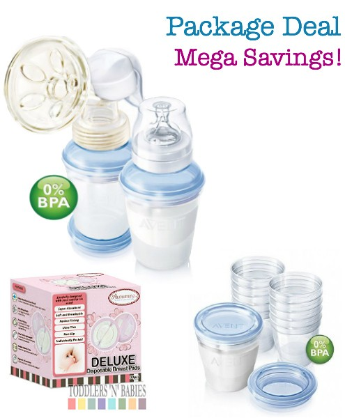 Toddlers N Babies Package Deal Philips AVENT BPA Free with VIA
