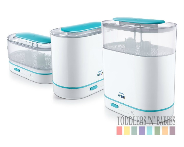 tommee tippee electric steam steriliser instructions