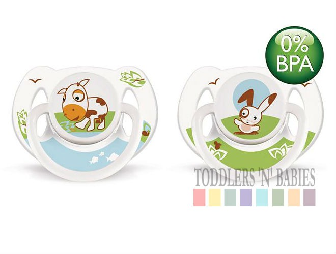 Toddlers N Babies Philips Avent Orthodontic Pacifier