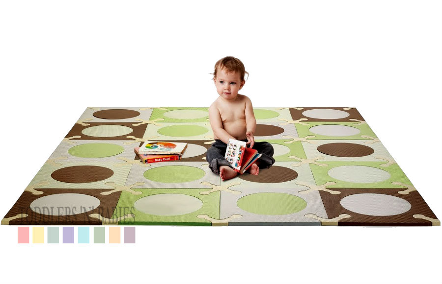 Toddlers N Babies Skip Hop Playspot Green Amp Brown 832