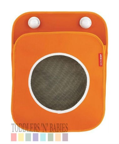 Skip Hop Tubby Bath Toy Organizer - Orange