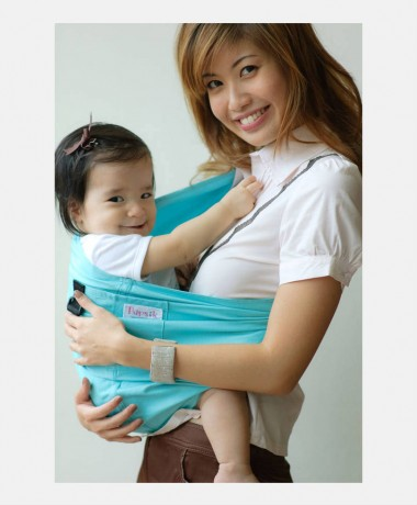 Pupsik Baby Pouch Sling Aqua Marine