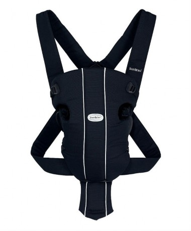 BabyBjorn Original Classic City Black