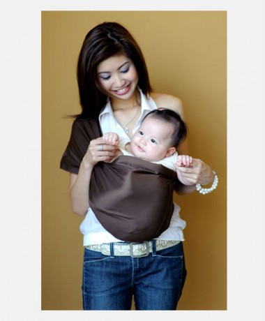 Pupsik Baby Pouch Sling Chocolat