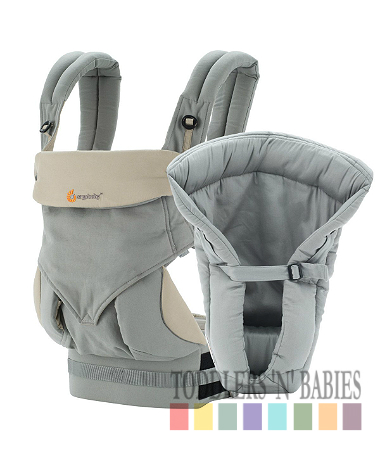 Ergobaby Four Position 360 Bundle of Joy Carrier - Grey