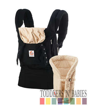 Ergobaby Bundle of Joy - Black/Camel