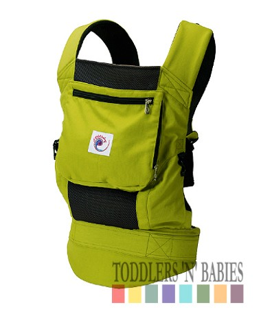 ERGObaby Performance Carrier - Spring Green