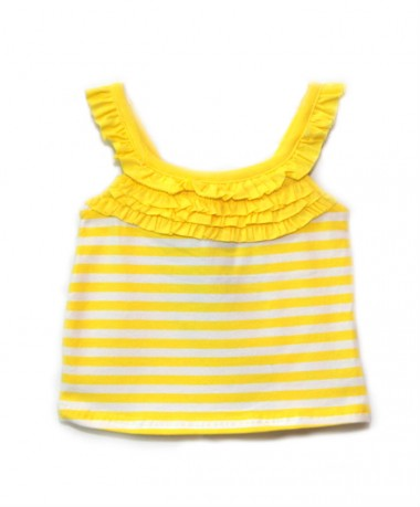Yellow striped singlet