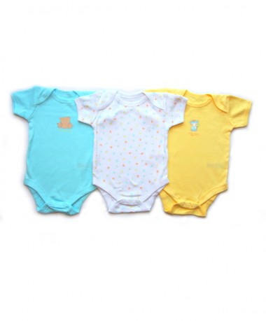 6-12 Months Short Sleeve Bodysuits