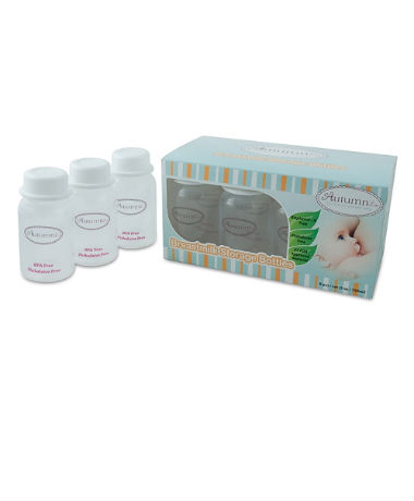 Autumnz Breast Milk Storage Bottles PP (8 packs) plus *FREE GIFTS*