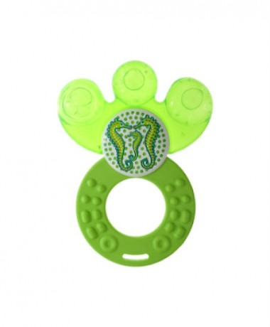 MAM Teether 4M+ BPA Free Lime Green Dreamtime