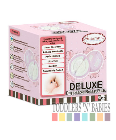 Autumnz Deluxe Disposable Breast Pads (30 pcs)