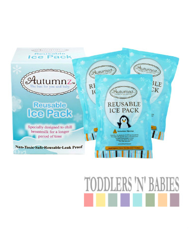 Autumnz Reusable Ice Pack (3 pcs, 310g/pc)