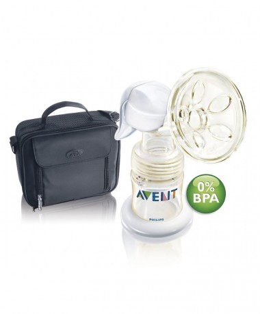 Philips AVENT BPA Free ISIS Manual Breast Pump On The Go Set