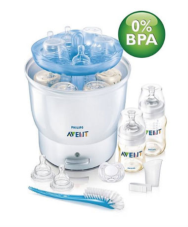Philips AVENT Express Electric Steam Steriliser - Free Gifts worth RM 175.60
