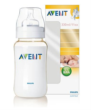 Philips AVENT BPA-Free Extra Durable (PES) 11oz/330ml Bottle