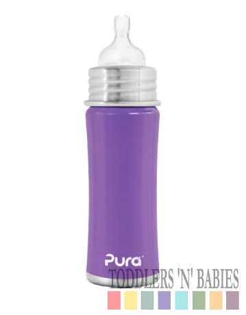 Pura Kiki 11oz Infant Bottle Purple