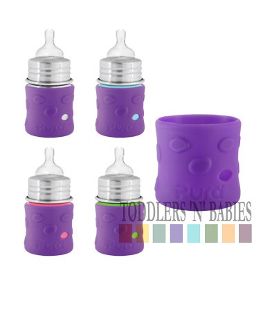 Pura Kiki 5oz Silicone Sleeves Grape