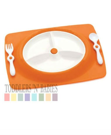 Skip Hop Mate Plate - Orange