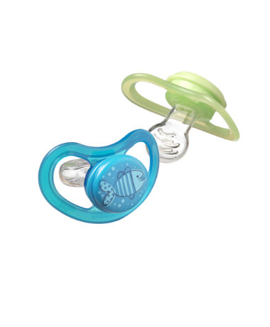 Tommee Tippee Closer to Nature C-AIR Soother 9-18 months (2pcs) Blue