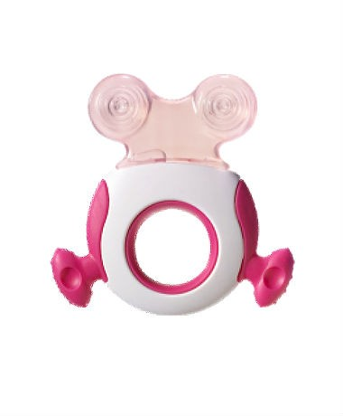 Tommee Tippee Closer to Nature Stage 2 Easy Reach Teether - Pink