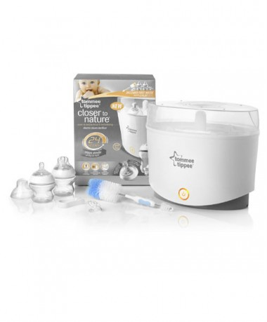 Tommee Tippee Closer to Nature Electric Steriliser (New Model) - Free Gift worth RM 78.60