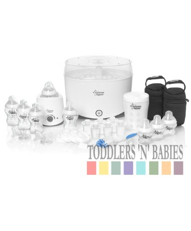 Tommee Tippee Closer to Nature Steriliser Complete Starter Kit