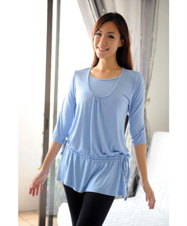 Autumnz Chelsea Tunic - Baby Blue
