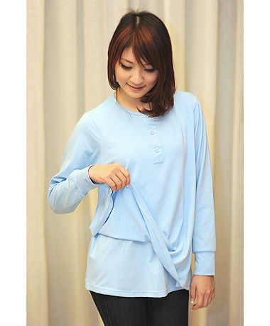 Autumnz Essential Tee - Sky Blue