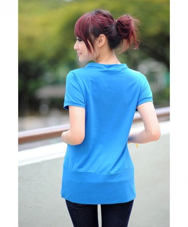 Autumnz Funky Short Sleeve - Blue