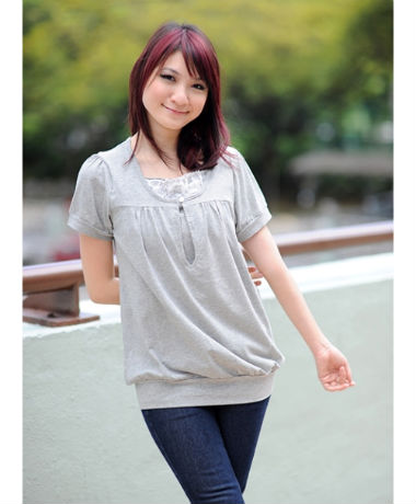Autumnz Islington Short Sleeve - Light Grey