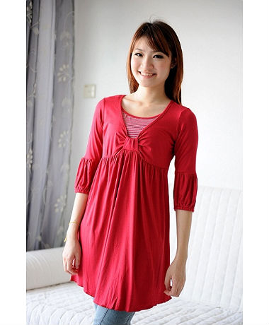 Autumnz Riviera Tunic - Ruby
