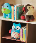 Skip Hop Zoo Bookends - Monkey (Set of 2)