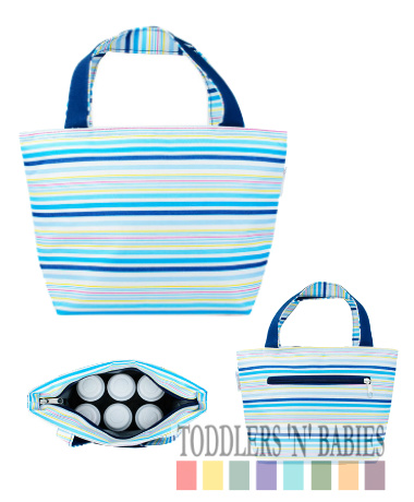Autumnz Trendy Cooler Tote - Ocean Fresh