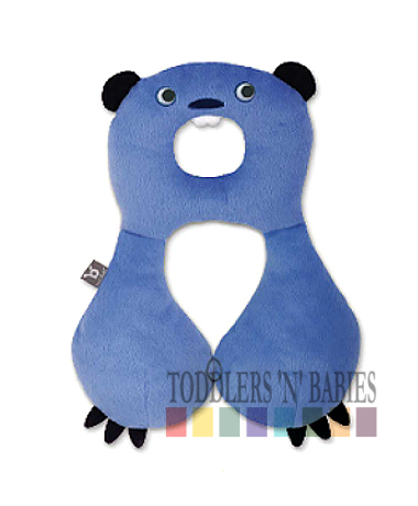 BenBat Travel Friends Total Support Headrest Beaver (4-8 years old)