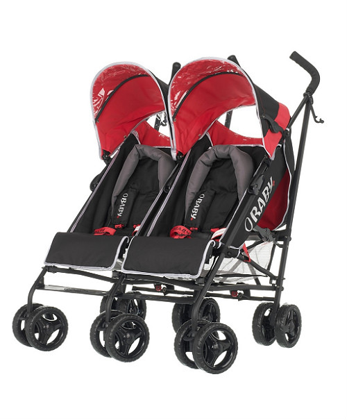 OBaby Apollo Plus Twin - Sport Red