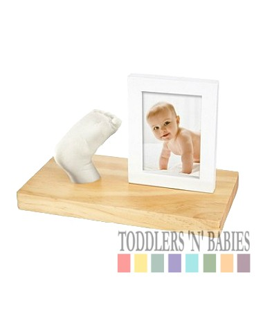 Pearhead Babyprints 3D Frame Kit (Natural)