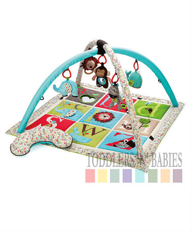 Skip Hop Alphabet Zoo Activity Play Gym