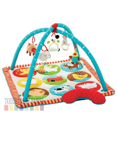 Skip Hop Funky Farmyard Animal Activity Gym