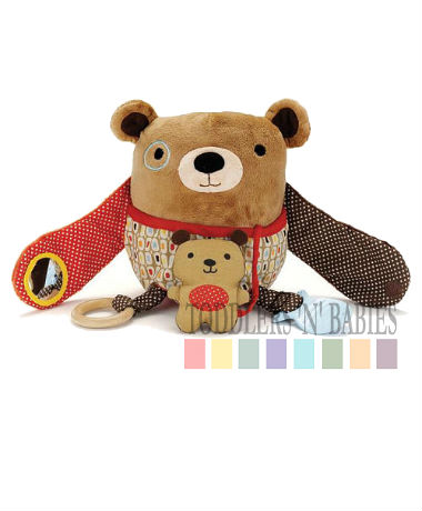 Skip Hop Hug & Hide Activity Toys - Bear