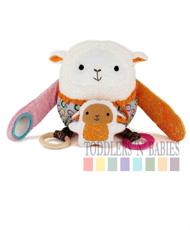 Skip Hop Hug & Hide Activity Toys - Lamb