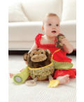 Skip Hop Hug & Hide Activity Toys - Monkey